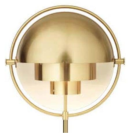 Mid-Century Modern Brass Louis Weisdorf 'Multi-Lite' Floor Lamp For Sale - Image 3 of 3