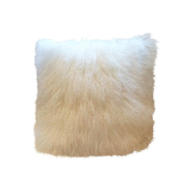 Mongolian Natural White Pillow - Image 1 of 3