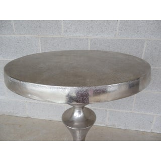 Uttermost Noland Distressed Aluminum Accent Table Preview