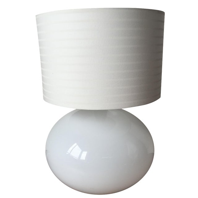 Modern White Lamp - Image 1 of 5