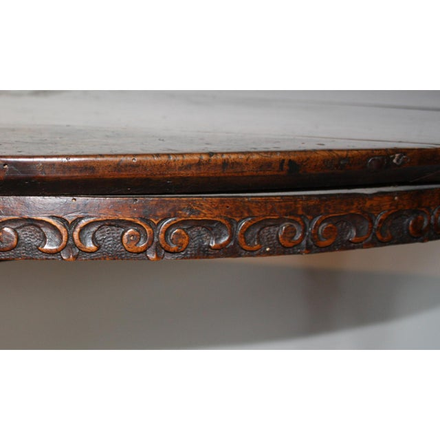 Walnut Large 17th c. Walnut Console Tables For Sale - Image 7 of 11