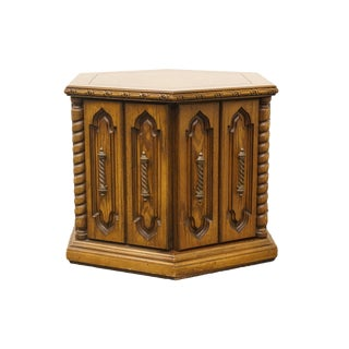 20th Century Italian Lane Furniture Hexagonal Commode For Sale