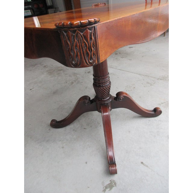 Antique Pedestal Side or Accent Table For Sale - Image 5 of 11