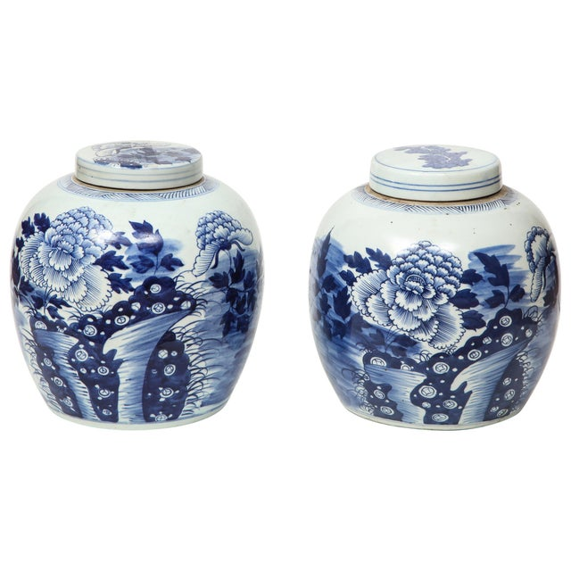 Chinese Export Ginger Jars - A Pair For Sale - Image 13 of 13