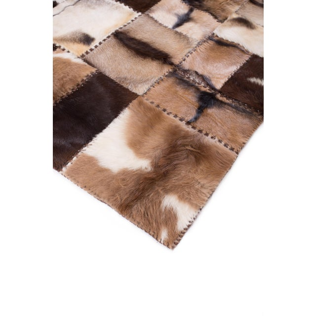 """Aydin Goatskin Patchwork Accent Area Rug - 4'7"""" x 6'7"""" - Image 3 of 9"""