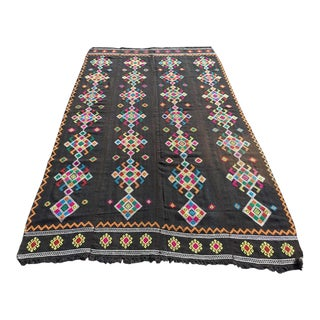 "Turkish Kilim Rug - 5'9"" X 10'3"" For Sale"