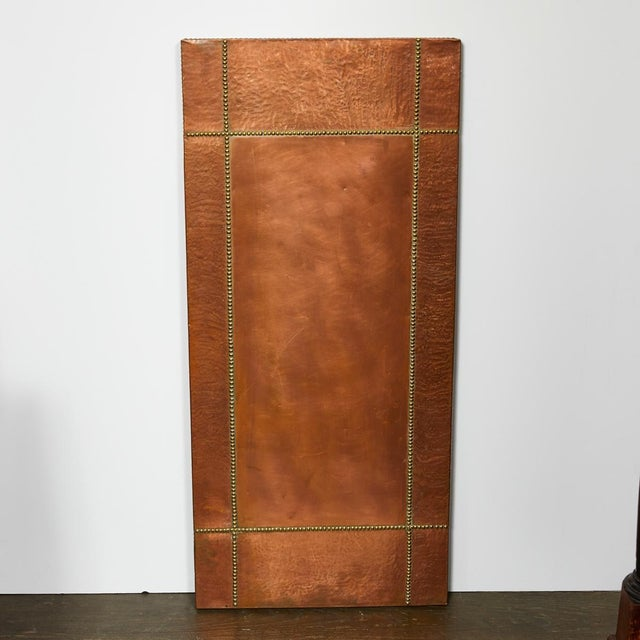 Mid Century French Copper and Brass Panel For Sale - Image 4 of 5