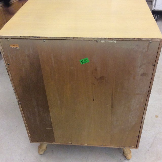 Wood Faux Bamboo Dresser & Nighstand For Sale - Image 7 of 13