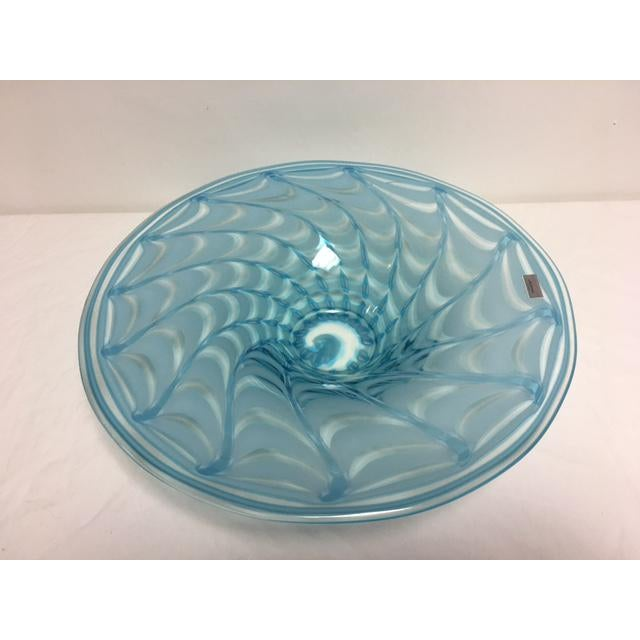 Waterford Evolution Aqua Art Glass Bowl - Image 7 of 8
