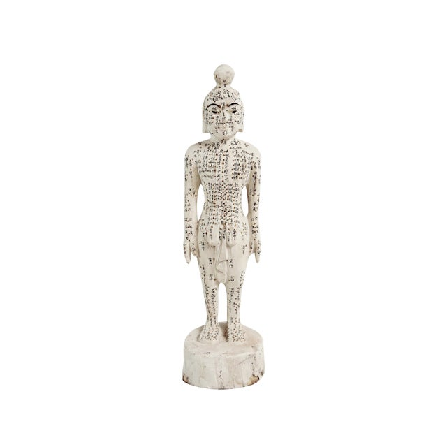 Chinese Acupuncture X-Small Male Statue For Sale