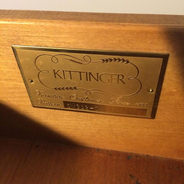 Kittinger Federal Mahogany Desk - Image 8 of 8