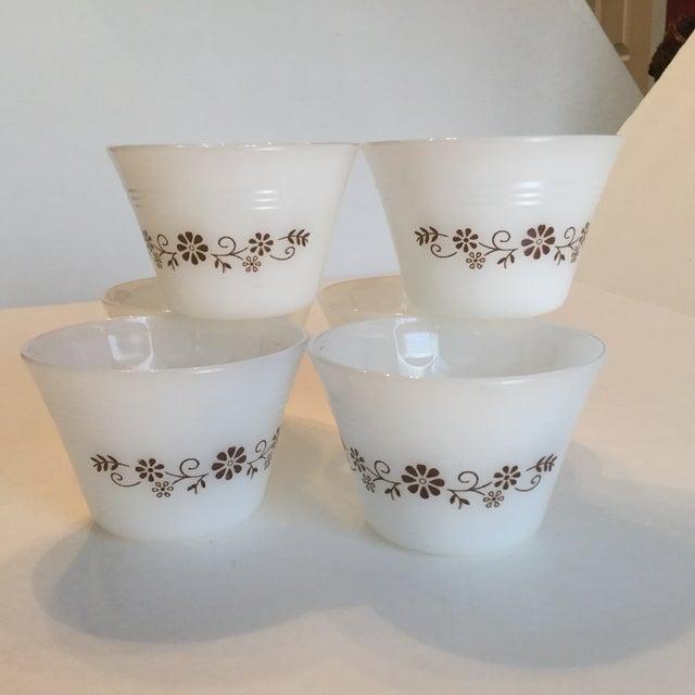Milk Glass Custard Cups - Set of 6 - Image 10 of 10