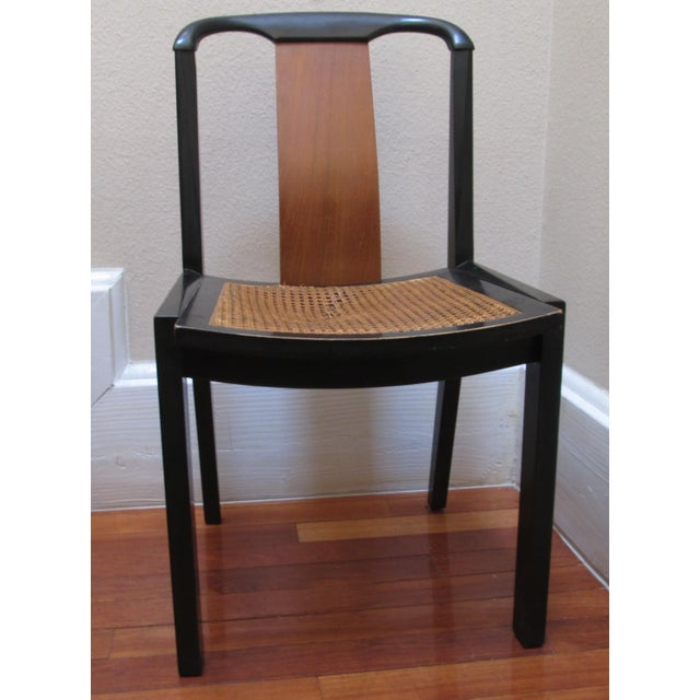 1950s Mid-Century Modern Michael Taylor for Baker Furniture Side Chair For Sale - Image 11 of 11