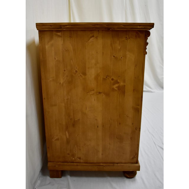 2010s Pine Chest of Seven Drawers For Sale - Image 5 of 9