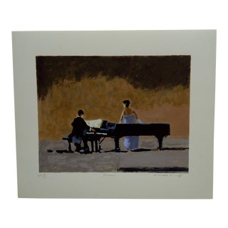 """Frederick McDuff Limited Editon Signed Numbered (4/30) """"Encore"""" Print"""