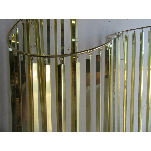 Modern Brass Wall Sculpture - Image 2 of 6