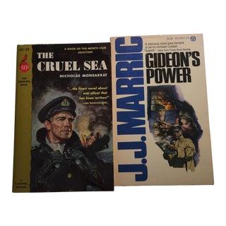 Cruel Sea Gideon's Power 1960s Books - Pair For Sale