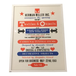 Herman Miller Textiles & Objects Print