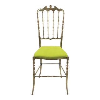 Chiavari Brass Chair Italy