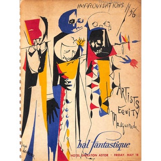 Improvisations 1956 Bal Fantastique Masquerade For Sale