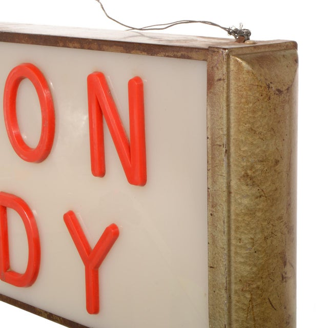 Lighted Cotton Candy Sign For Sale In Dallas - Image 6 of 11