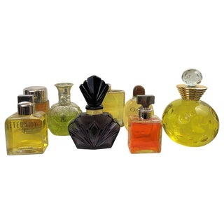 Eight Factice Perfume Store Display Bottles, Calvin Klien, Dior, Ralph Lauren For Sale