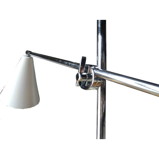 1960s 1960s Italian Modern One-Arm Floor Lamp for Arredoluce For Sale - Image 5 of 8