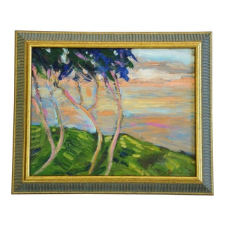 Juan Guzman Plein Air Landscape Painting For Sale