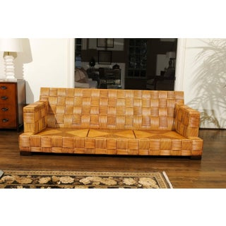 Stunning Block Island Collection Sofa by John Hutton for Donghia, Circa 1995 Preview