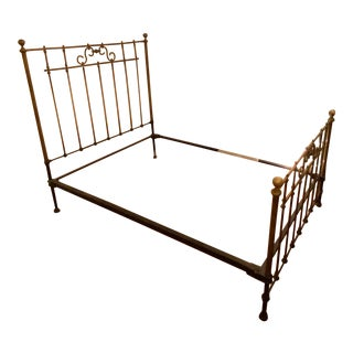 Antique Brass Full Size Bedframe For Sale