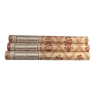 Colefax and Fowler Saltram Trellis Wallpaper For Sale