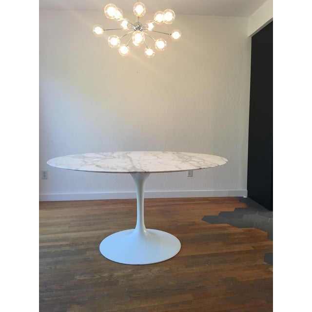 1950s Knoll Saarinen Dining Table For Sale - Image 5 of 10