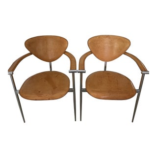 Arrben Italy Stiletto Chairs - A Pair For Sale