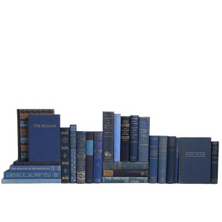 Midnight Blue World History Book Mix - Set of 25