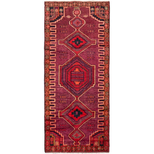 "Hand-Knotted Persian Rug - 4'3"" X 10'6"" - Image 3 of 5"