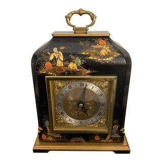Elliott London Chinoiserie Bracket Clock For Sale