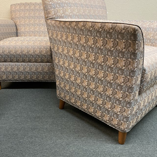 Bernhardt Custom Accent Chairs - a Pair For Sale - Image 10 of 13
