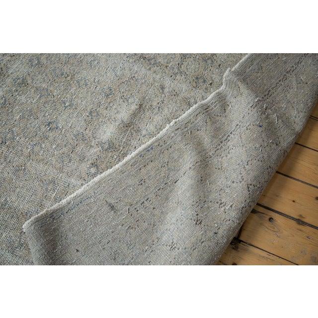 "Distressed Oushak Medallion Carpet - 6'5"" x 9'7"" - Image 4 of 5"