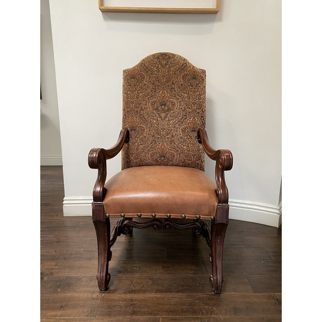 French Vintage French Louis XV Style Dining Chairs - Set of 8 For Sale - Image 3 of 13