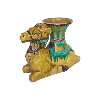 Terracotta Camel Planter
