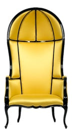 Image of Canary Yellow Accent Chairs
