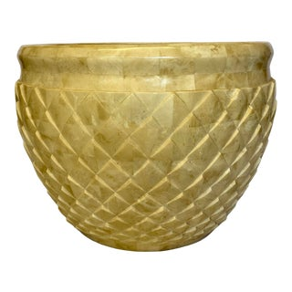 Marquis Collection Faux Stone Pineapple Planter For Sale