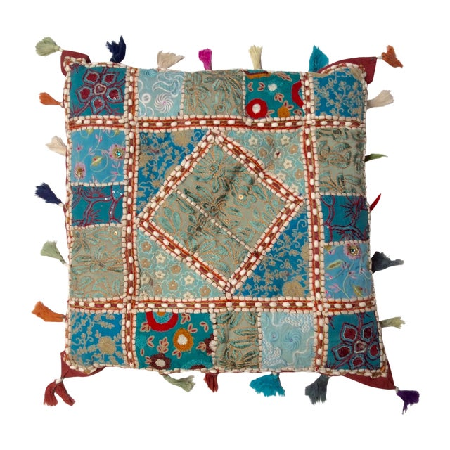 Layla Vintage Artisanal Pillow - Image 1 of 3