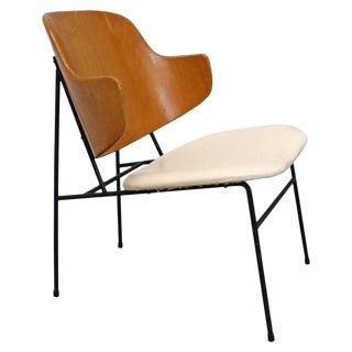Mid-Century Modern Danish Ib Kofod Larsen for Selig Penguin Accent Chair For Sale