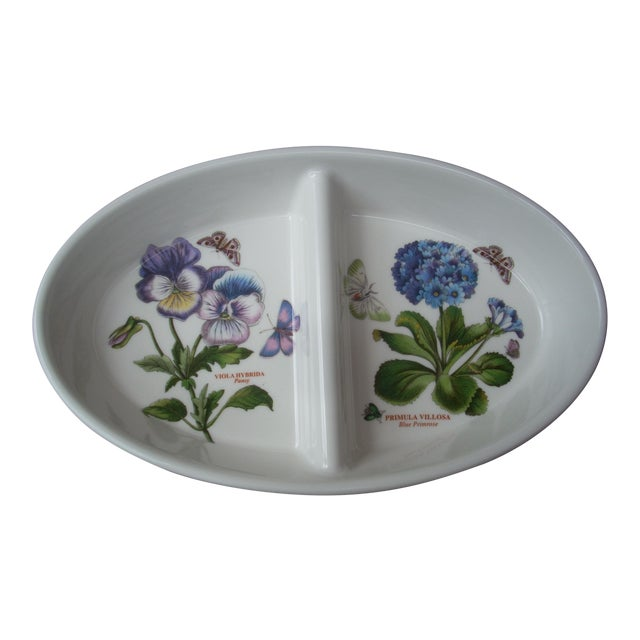Portmeirion Divided Bowl For Sale