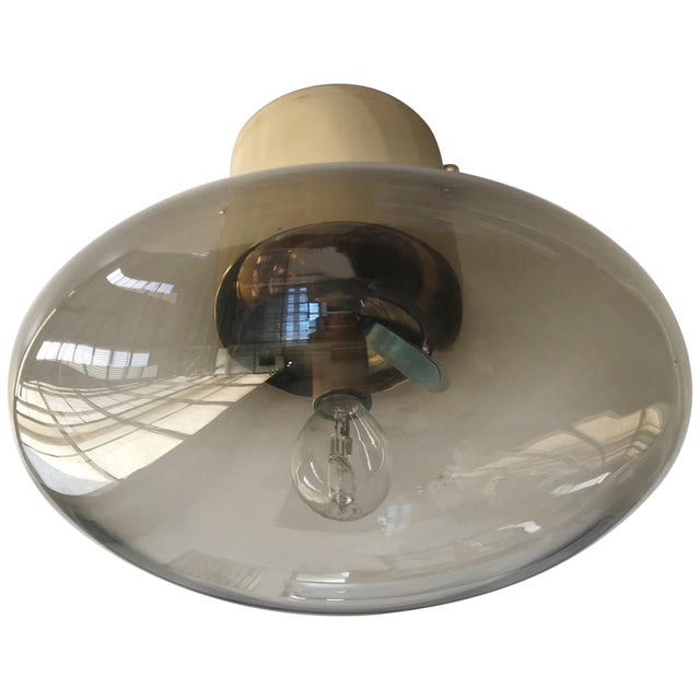 Metal Uno Flush Mount by Fabio Ltd For Sale - Image 7 of 7