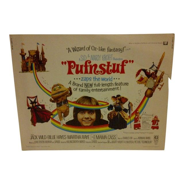 """Vintage Movie Poster """"Pufnstuf ... Zaps the World"""" Jack Wild & Billie Hayes - 1970 For Sale"""