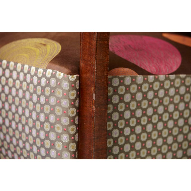 Pair of 1920s Art Deco Lounge Chairs from Buenos Aires For Sale - Image 10 of 11