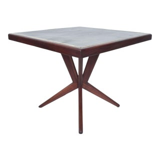 Mahogany Dining Table Style Charles Allen of Regil De Yucatan Mid Century Mexico 1950s For Sale