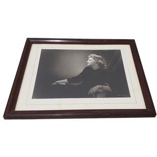 Bradford Bachrach Black and White Photograph Circa 1950s For Sale